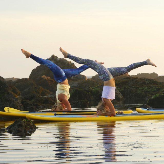 One short month left until SUP Yoga teacher training inhellip